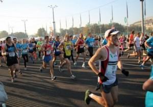 Начало марафона